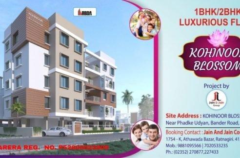 kohinoor blossom layout plan